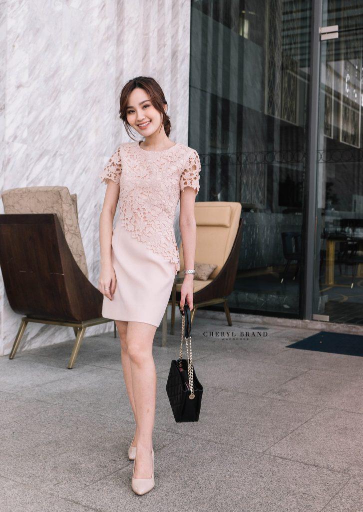 Paris Lace Dress